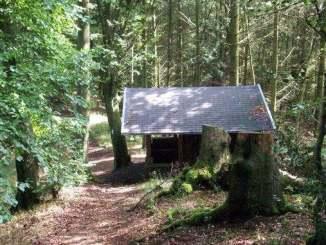 Schutzhütte am Breiberg
