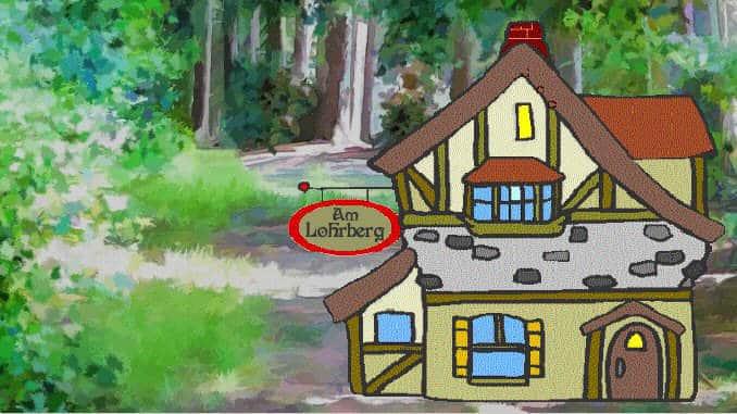 Siebengebirge Märchen, Das erste Gasthaus am Lohrberg