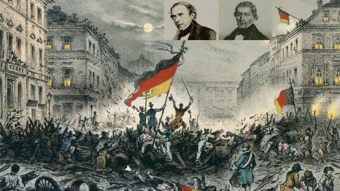 Siebengebirge Geschichte, Preußenzeit, Revolution 1848/49