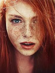 Are rh negative people more likely to have red hair and/or freckles?