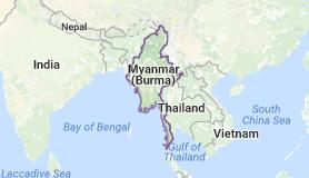 Myanmar, Asia, formerly Burma