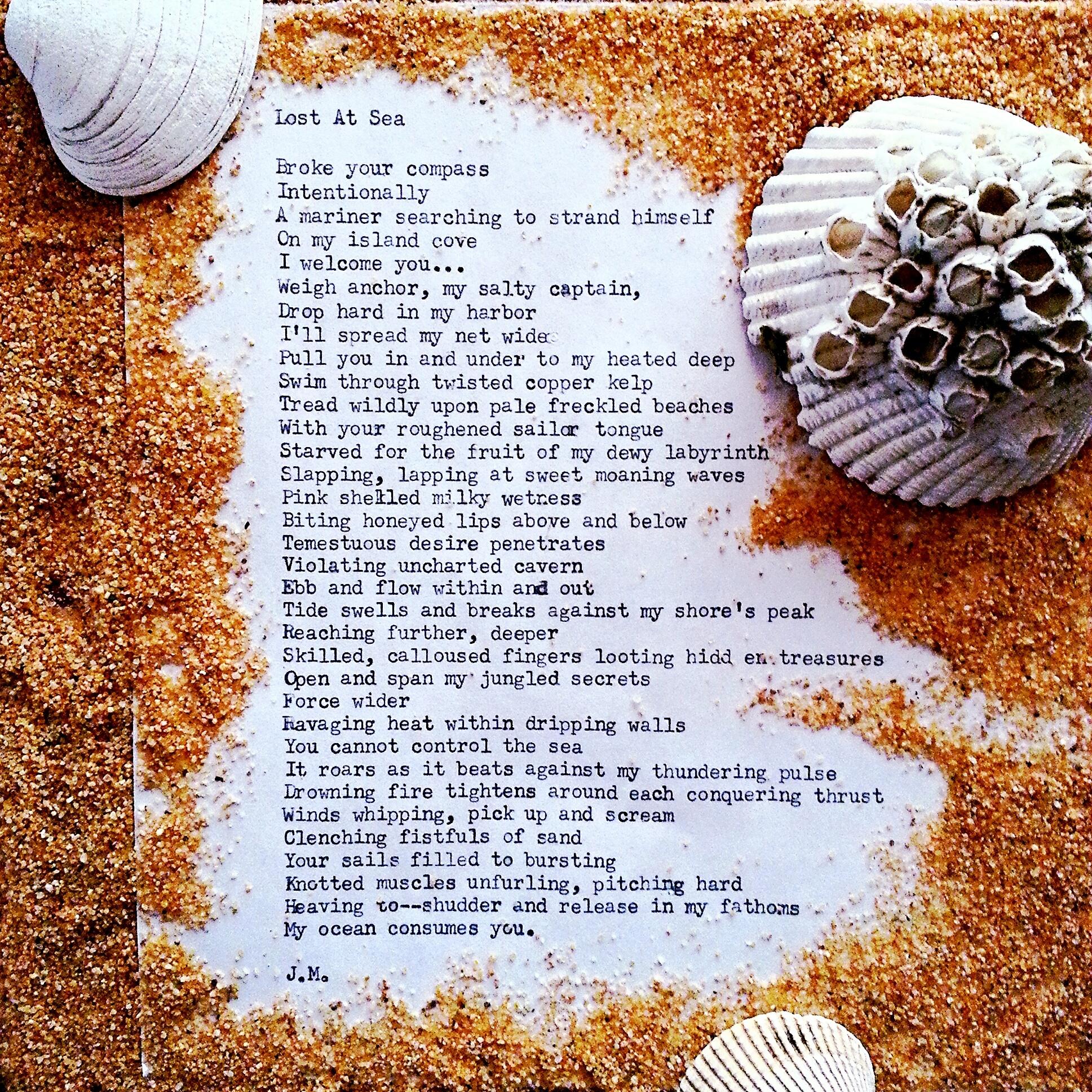 Lost At Sea (a poem)