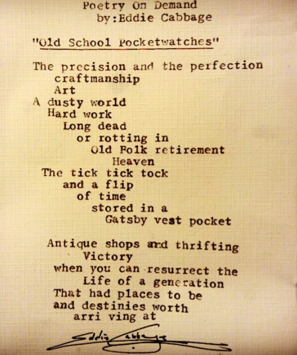 PUPOD EC Old School Pocketwatches