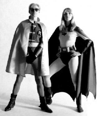 andy warhol nico batman robin photo esquire 1967 c. Globe Photos