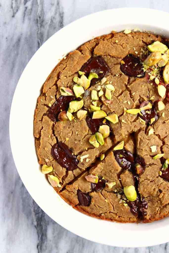 Gluten-Free Vegan Deep-Dish Cookie
