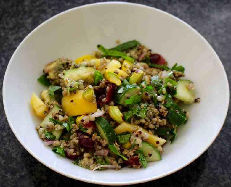 Nectarine Buckwheat Tabbouleh (Vegan + GF)