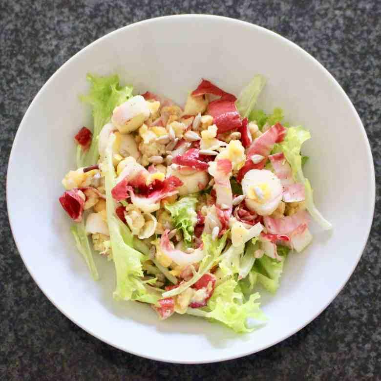 Vegan Chickpea Mayonnaise Salad (GF)