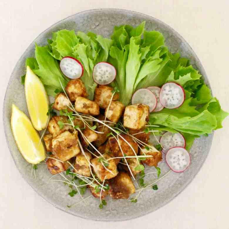 Gluten-Free Vegan Tofu Karaage (Japanese Fried Chicken)
