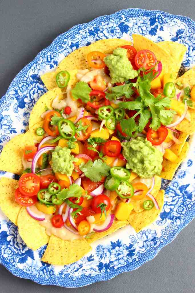 Vegan Stretchy Melty Cheese Nachos (GF)