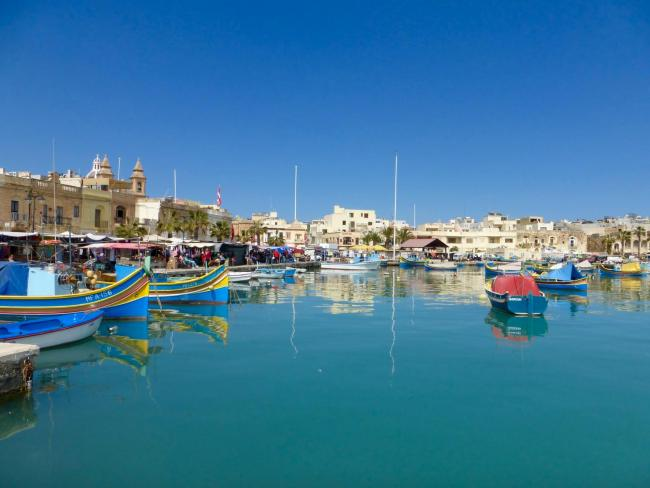 Malta Fishing Village