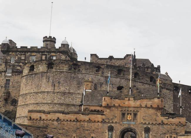 Edinburgh Castle Front