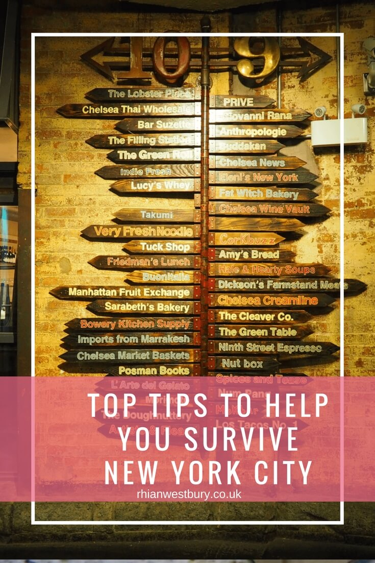 Top Tips To Help You Survive New York City