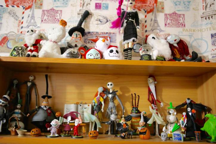 Nightmare Before Christmas Shelf