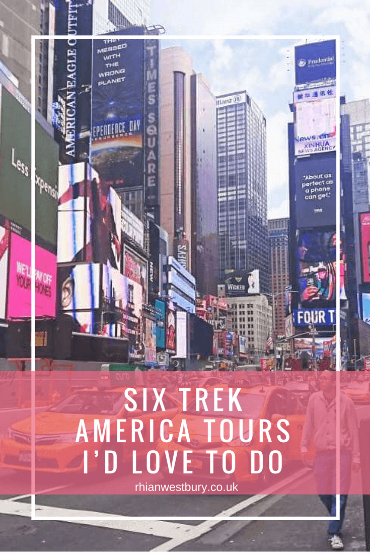 Have you tired any of these Six Trek America Tours?