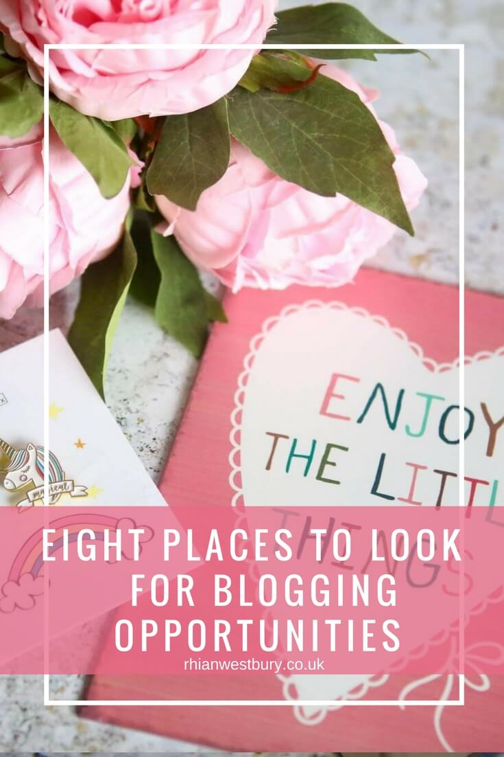 Eight Places To Look For Blogging Opportunities