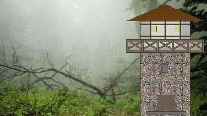 Roman watchtower