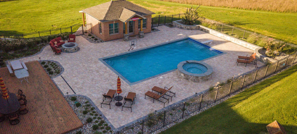 View Simple Pool Landscaping Gif