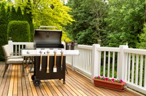 outdoor living deck