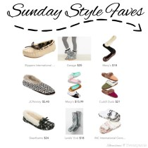 Sunday Style Faves | Slippers