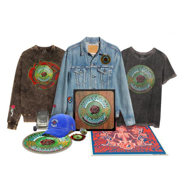 Grateful Dead AMERICAN BEAUTY Product Shot