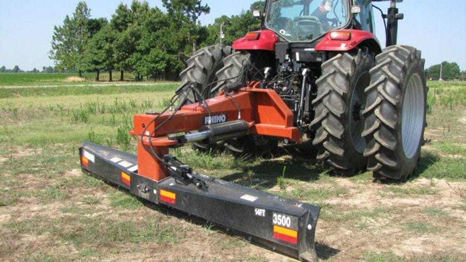 heavy duty rear blades rhino agthe 3500 blade (300 draw bar hp wheel type tractors max ) is available in widths of 12\u0027 and 14\u0027 and features a massive cat 3 4 three point hitch and