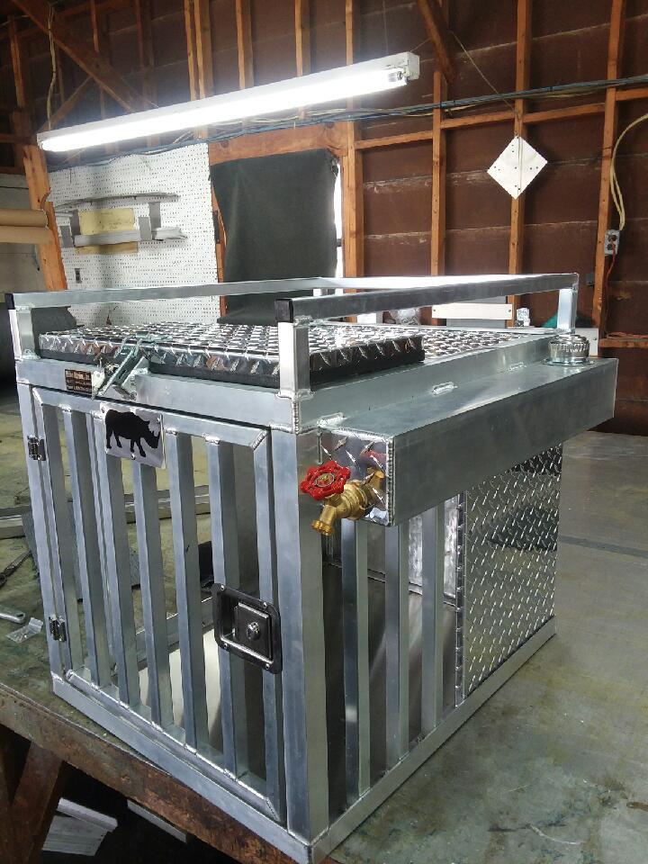 Custom Aluminum Dog Boxes