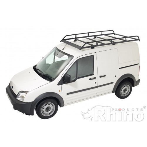 rhino modular roof rack ford transit connect 2002 2014 lwb high roof twin doors