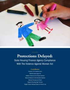 thumbnail of Protections Delayed – HFA Compliance with VAWA