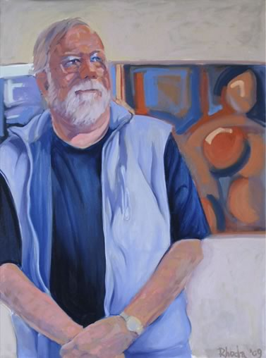 Oil Portrait of George