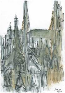 Cologne, Germany-Dom Cathedral