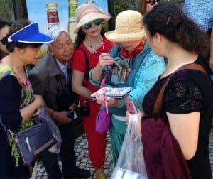 Sintra-Japanese tourists