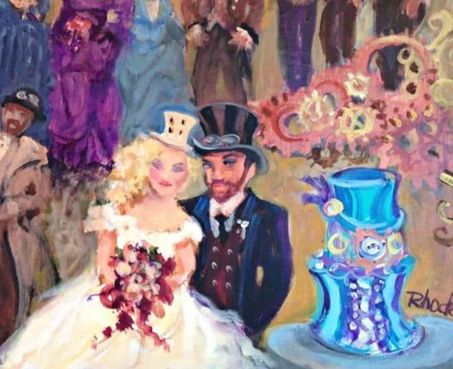 Steampunk-CU couple