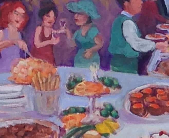 banquet 3CU buffet