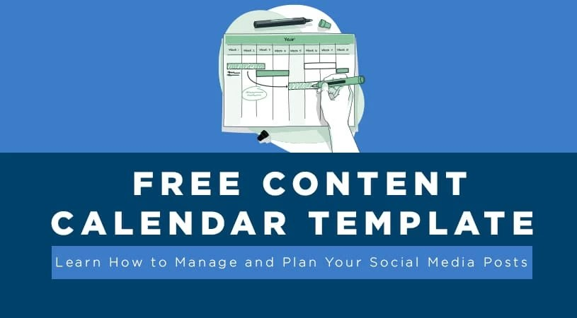 Title - free content calendar