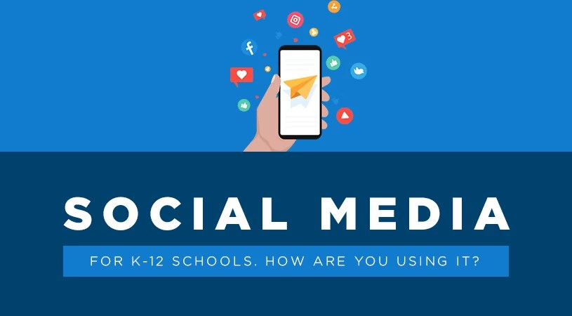 social media for k-12 schools