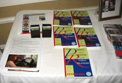 Rhonda's Books on Display
