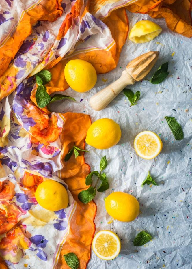 Meyer Lemons - Meyer Lemon Alfajores with Fresh Mint