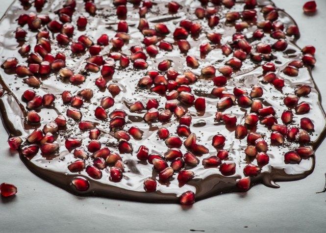 Pomegranate Sea Salt Bark