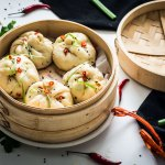 Steamed Red Curry Pork Buns