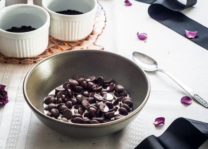 Dark Chocolate Ganache - Black Bottom Creme Brûlée