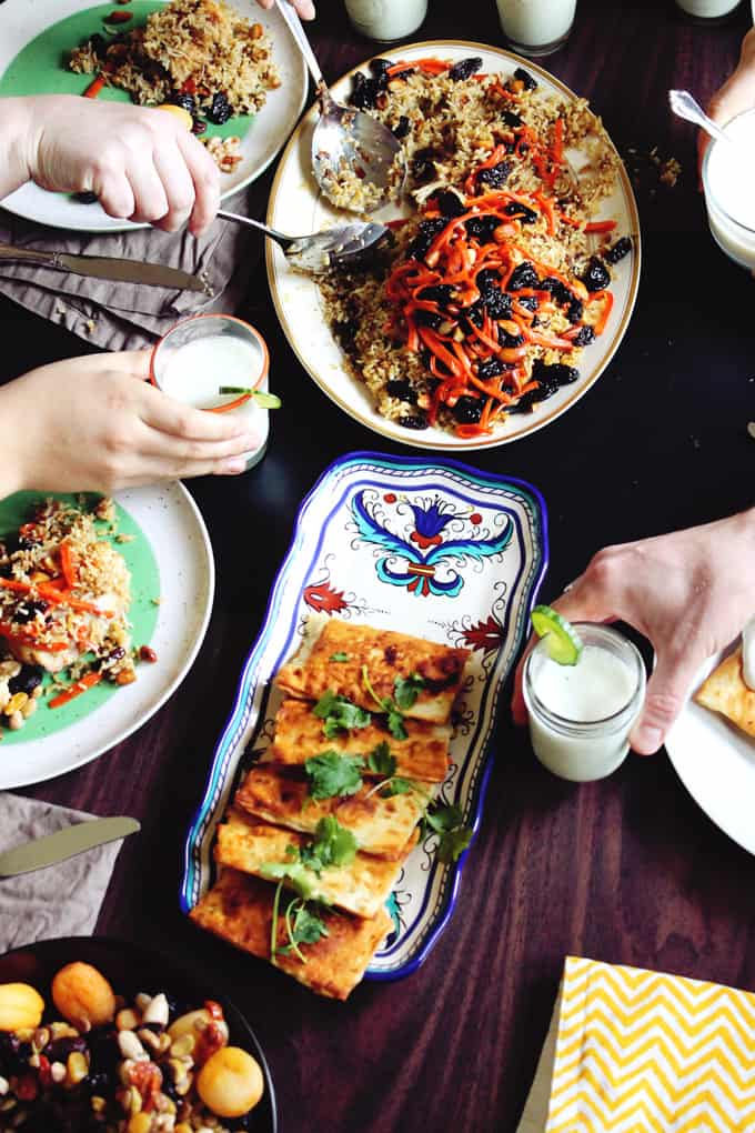 Global feasts: Afghanistan. Experiencing food from countries around the globe!