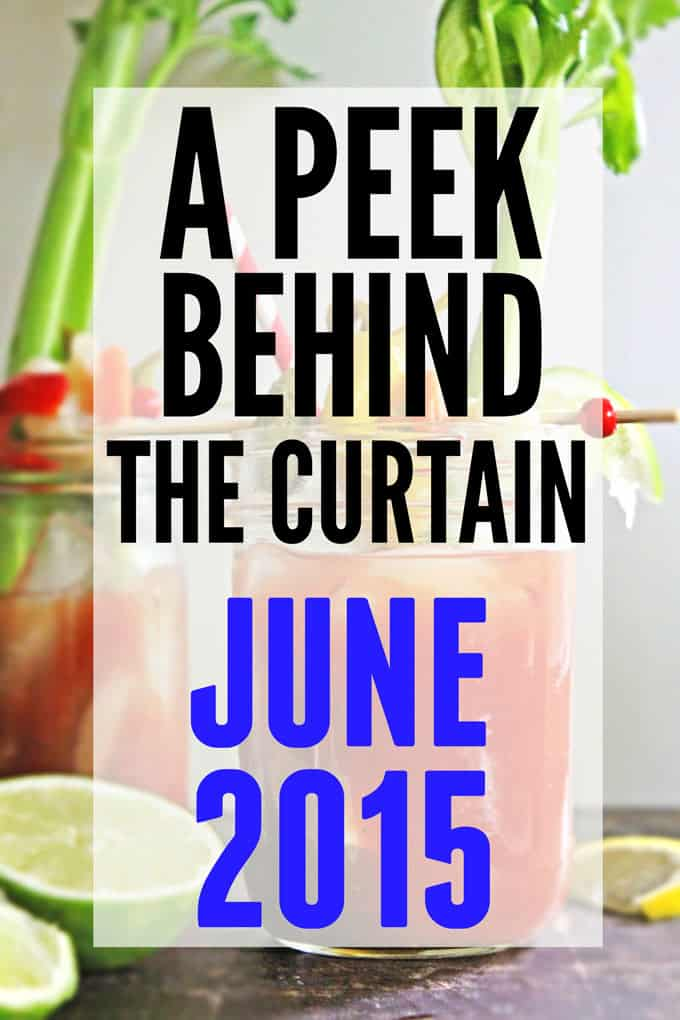 A peek behind the curtain: June 2015 // Rhubarbarians