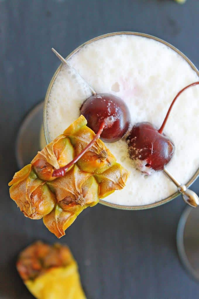 A Caribbean favorite! This classic pina colada recipe will be the best you ever make!
