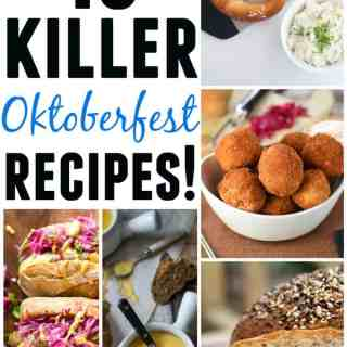 10 Killer Oktoberfest recipes! Pretzels, brats, beer! 10 of the BEST Oktoberfest recipes around the web. Check em out!