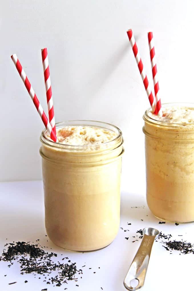 Thick and creamy earl grey honey milkshakes recipe! YUM!
