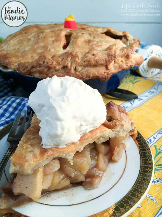 Incredible homemade apple pie + 10 amazing holiday dessert recipes! Amazing holiday dessert recipes from your favorite food bloggers, The Foodie Mamas!