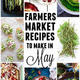 farmers market recipes for may