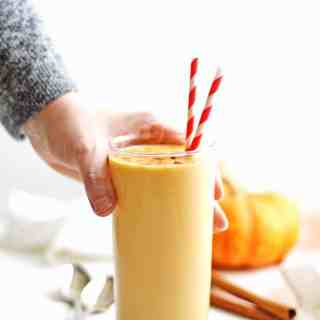 Pumpkin spice probiotic smoothie