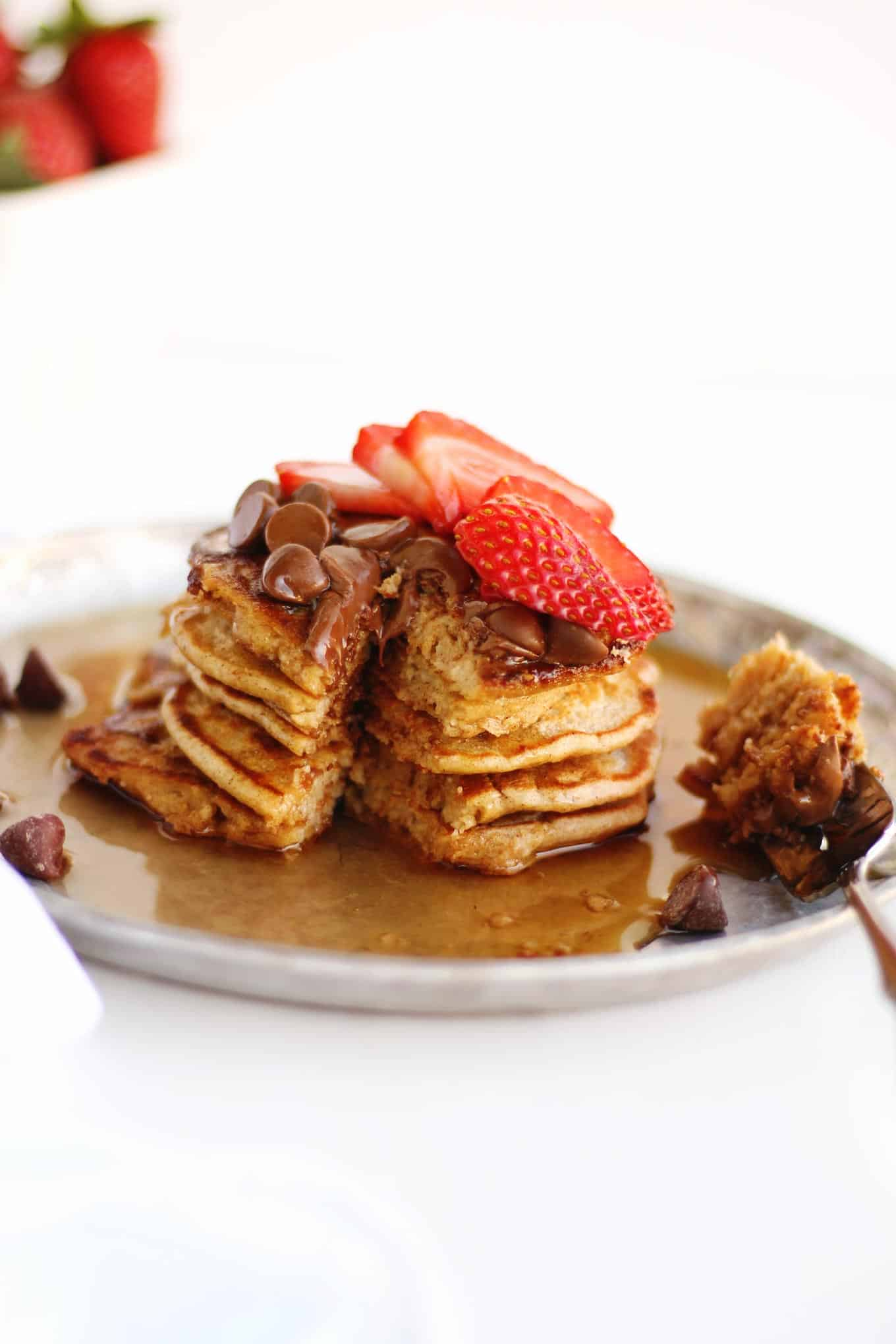 how to make pancakes with oat flour
