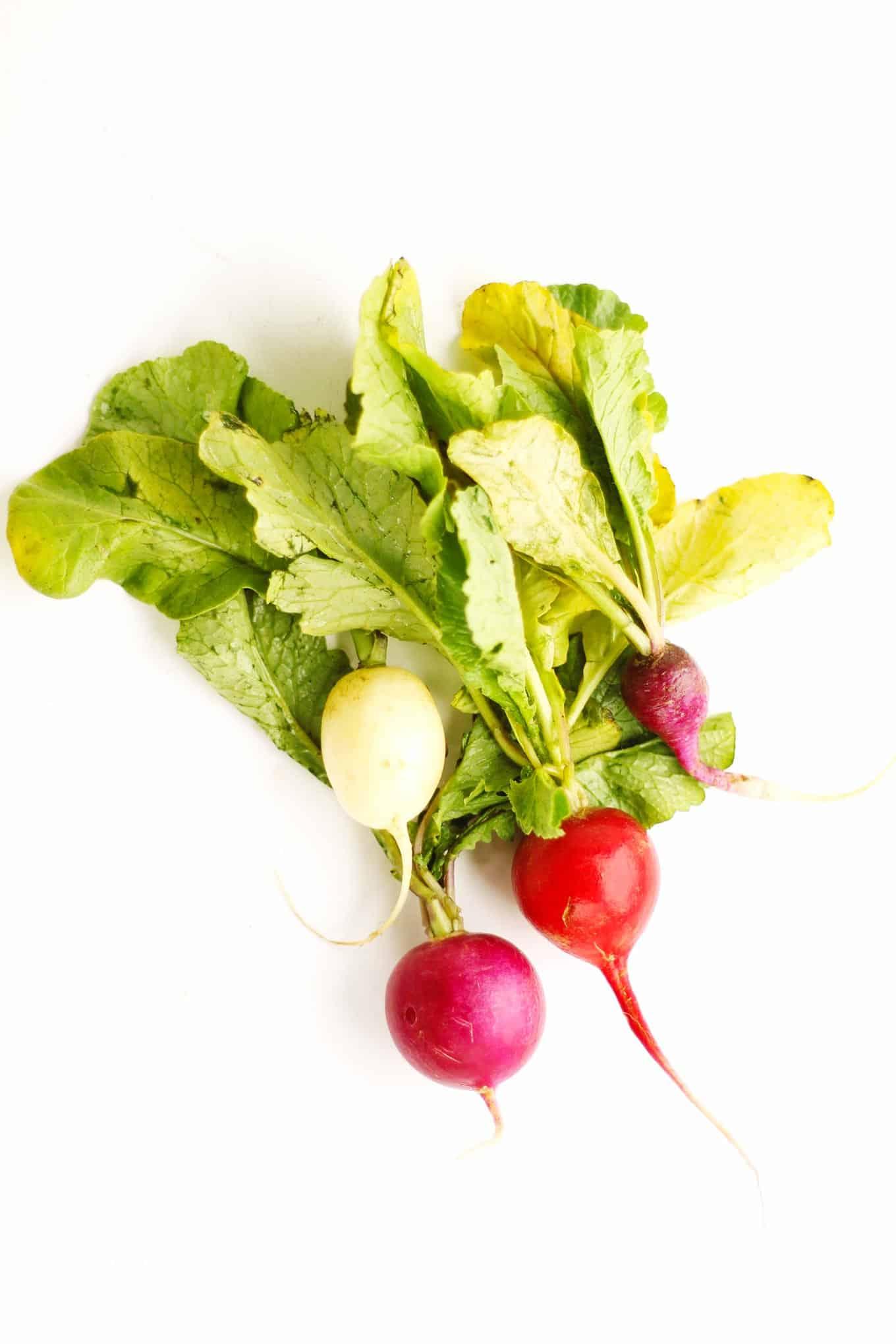 Spring veggies: radish